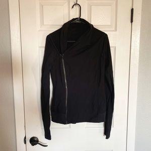 Black lululemon wrap jacket